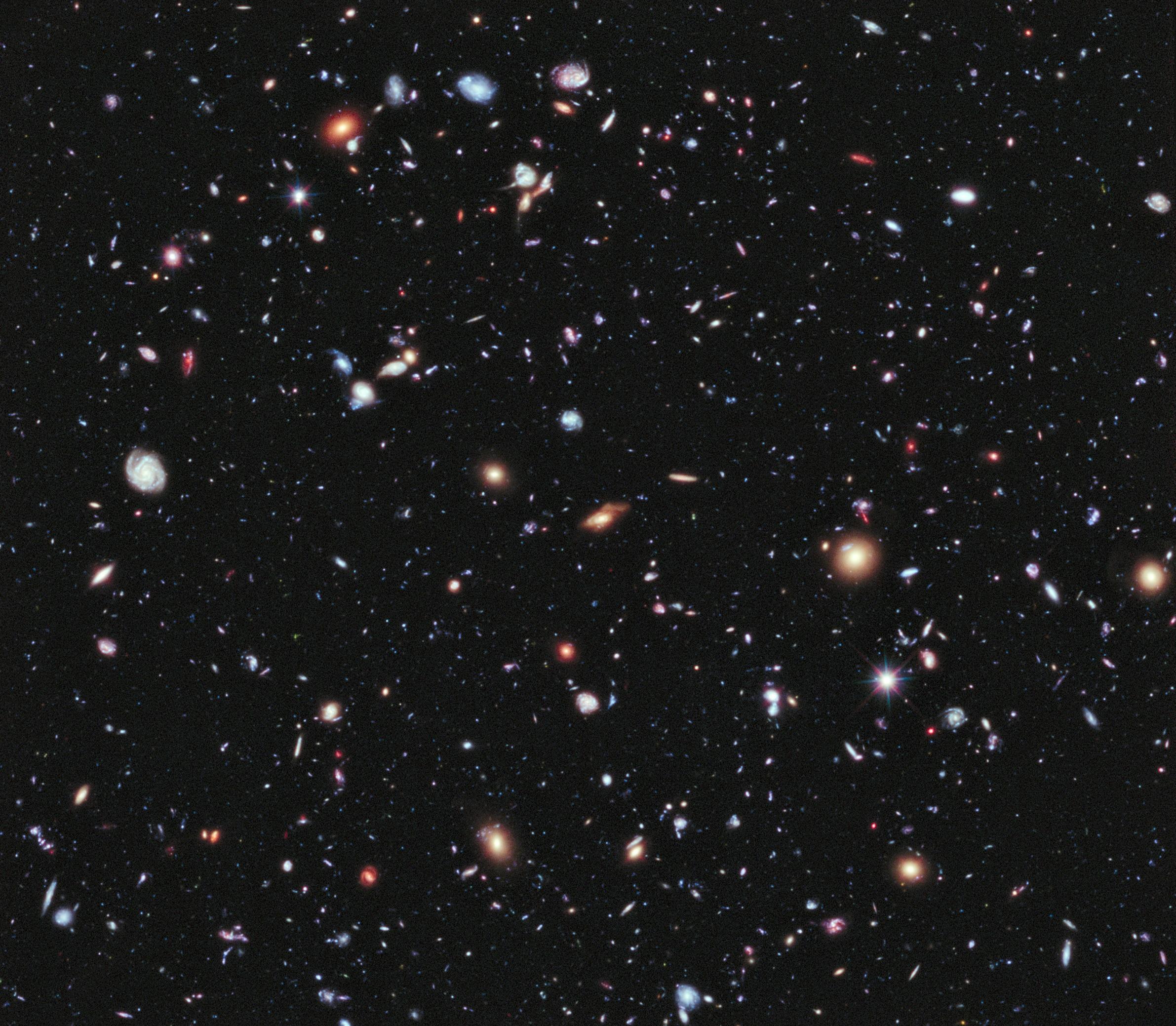 Ekstremalnie Głębokie Pole Hubble'a (eXtreme Deep Field, XDF)