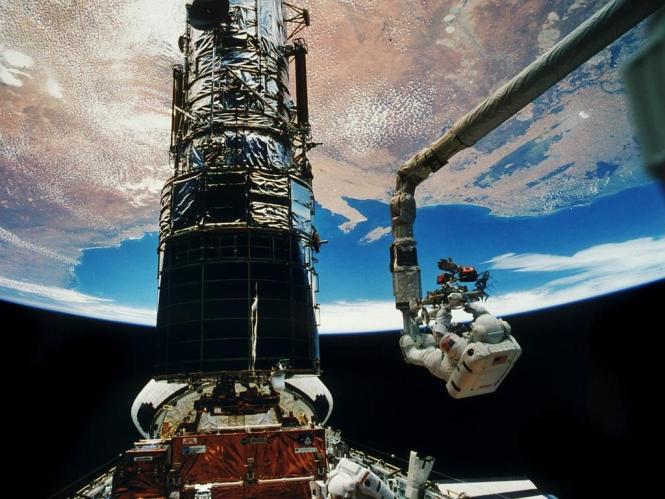 Teleskop Kosmiczny Hubble'a. Fot. NASA