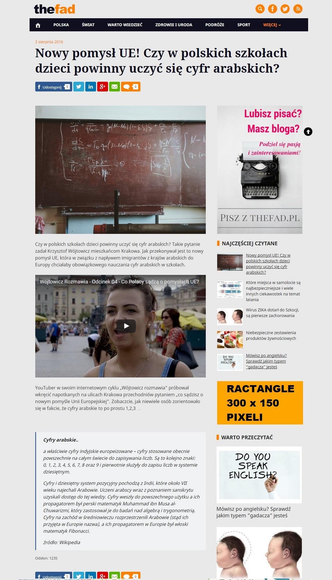 Biuro reklamy TheFad.pl: Wizualizacja reklam, banery 300x150