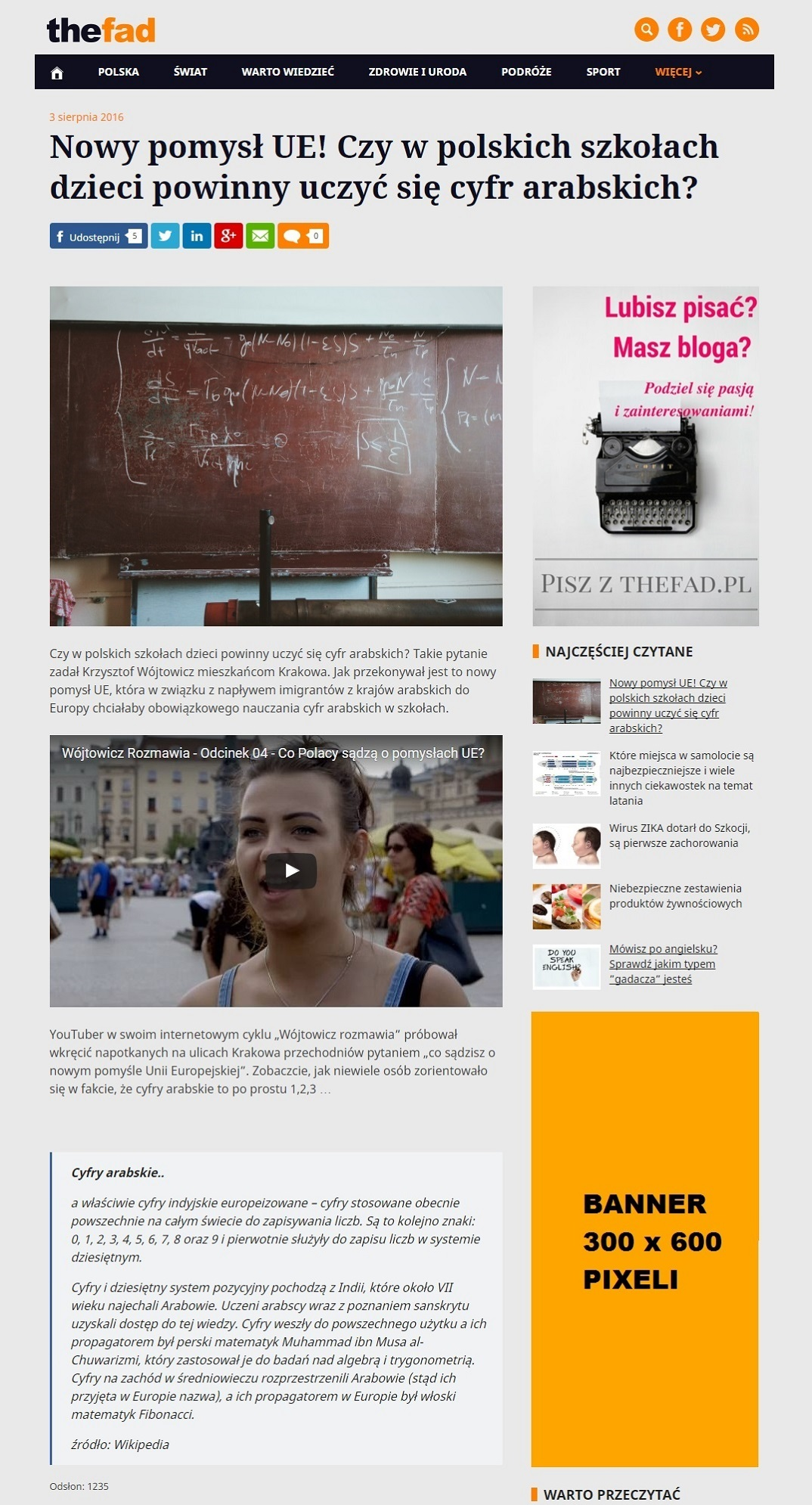 Biuro reklamy TheFad.pl - Wizualizacja reklam, banery 300x600
