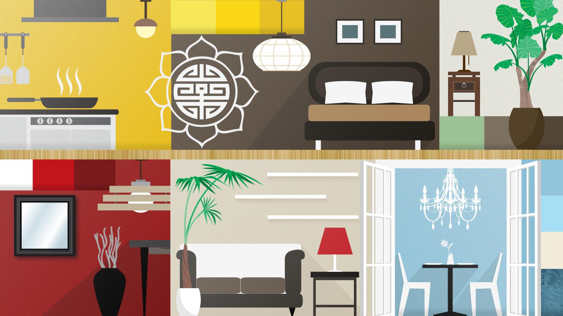 feng shui w twoim domu miniporadnik. Black Bedroom Furniture Sets. Home Design Ideas