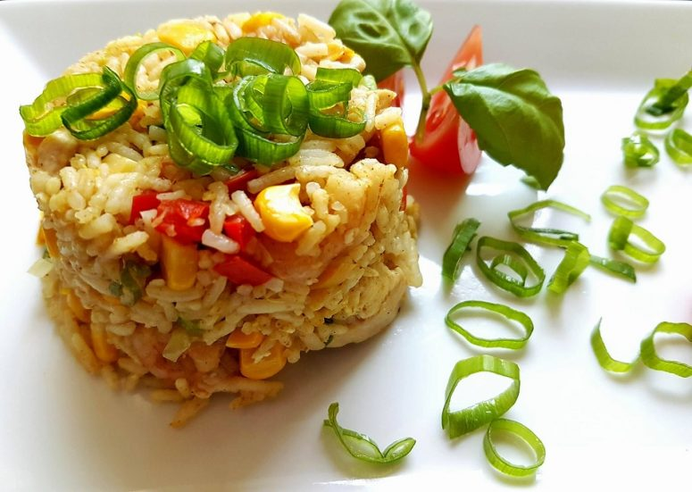 Singapure rice, fot. TheFad
