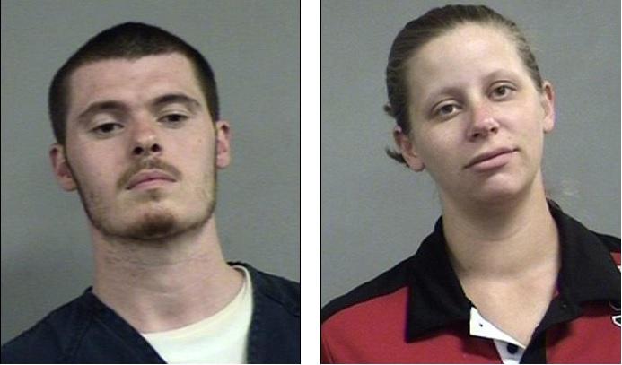 James Roeder i Ashley Roeder, oskarżeni o kradzież