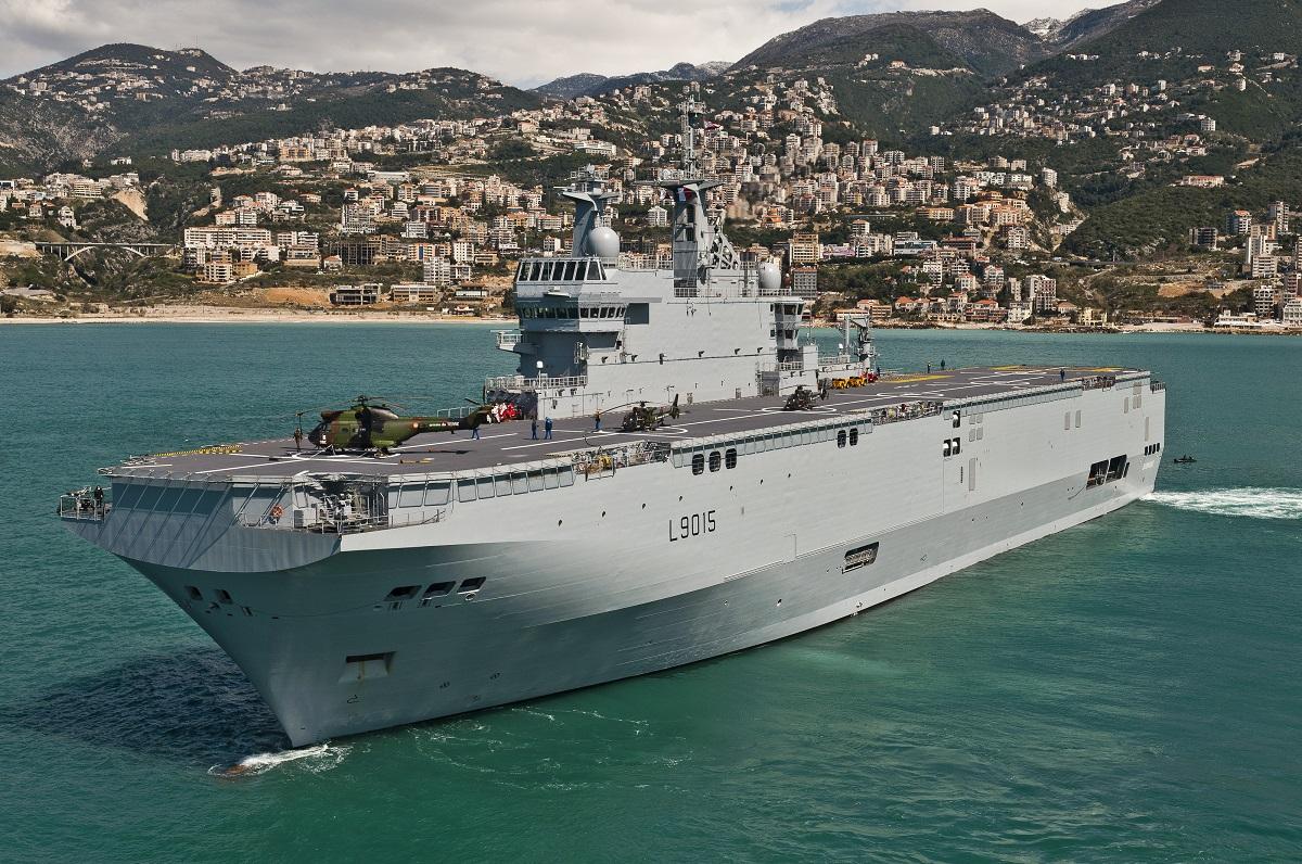 Okręty desantowe typu Mistral. Fot. wikimedia.org