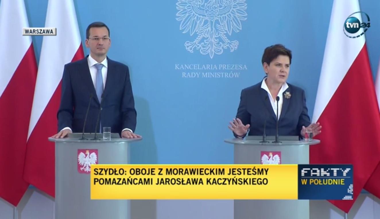 Premier Szydło na Twitterze: Bez względu na wszystko najważniejsza jest Polska