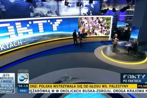 TVN24. Fot. Zrzut z ekranu TVN