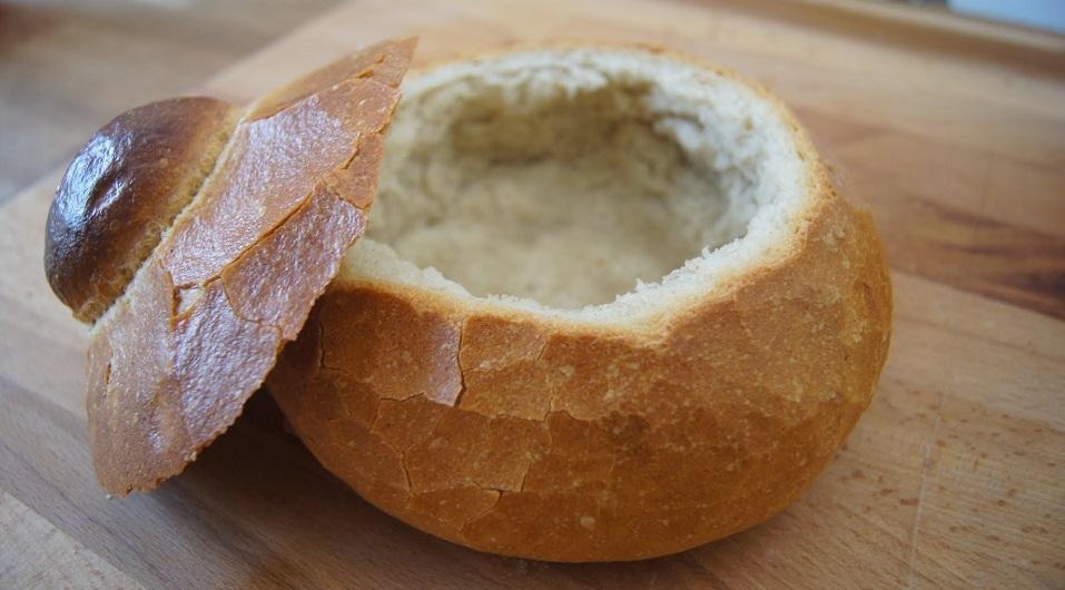 Chlebowe miseczki na wielkanocny żurek