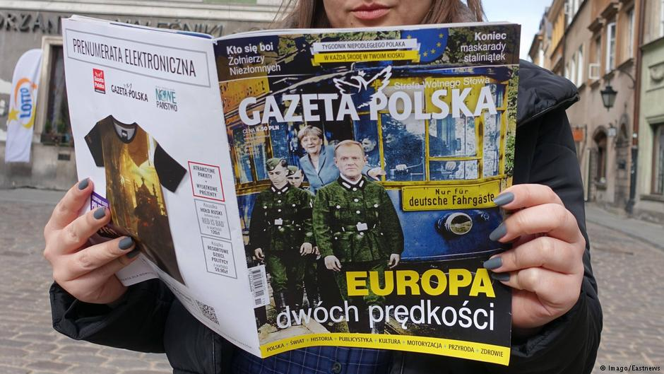 Prawicowe media w Polsce uczestniczą w antyniemieckiej kampanii rządu domagając się reparacji wojennych