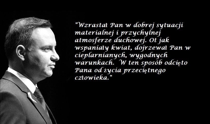 List jakich mało. Adam Mazguła udostępnił list księdza do Andrzeja Dudy