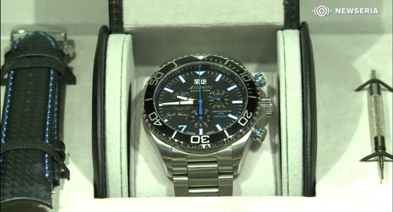 Krzysztof Hołowczyc zaprojektował zegarek