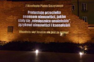 Fot. dzięki Marysi Leszczyńskiej#MarszMilczenia#ManifestPiotra