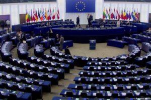 Siedziba Parlamentu Europejskiego w Strasburgu