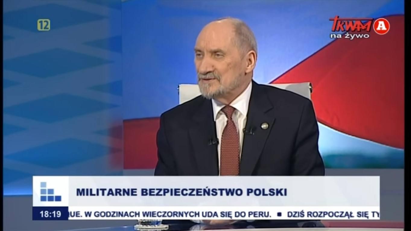 Dariusz Stokwiszewski: Antoni Macierewicz skarży się w TV Tadeusza Rydzyka
