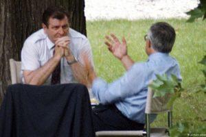 Václav Klaus and Vladimír Mečiar
