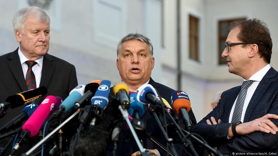 W centrum zainteresowania: Viktor Orban na zimowym posiedzeniu CSU.