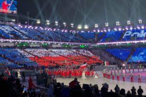Igrzyska otwarte. W Pjongczangu rozpoczęły się XXIII Zimowe Igrzyska Olimpijskie