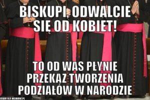 Adam Mazguła: Biskupi, odczepcie się od kobiet