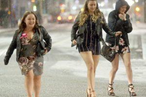 Brytyjczykom zima nie straszna-nic nie zakłóci zaplanowanej na weekend imprezy