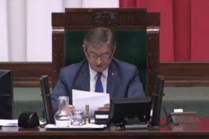 Maria Nurowska: Złożyłam w prokuraturze zawiadomienie o popełnieniu przestępstwa przez marszałka Kuchcińskiego