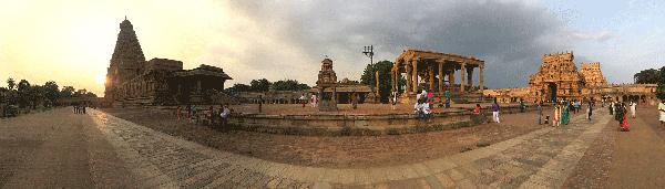 Diwali w drodze do Thanjavur