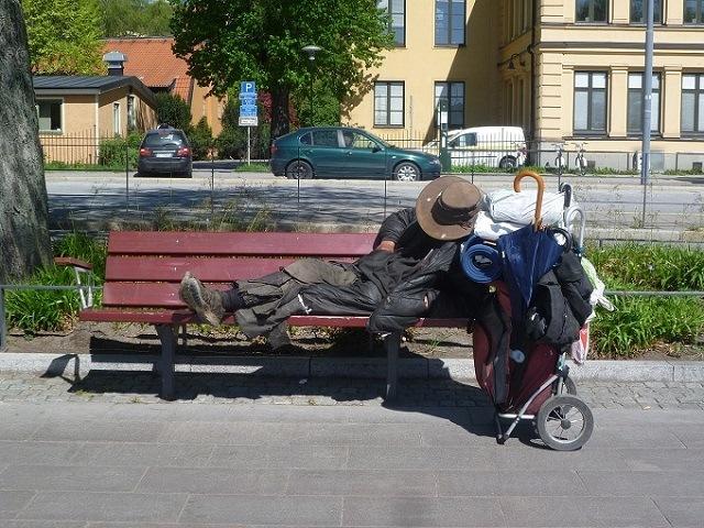 Co drugi bezdomny w Berlinie to Polak