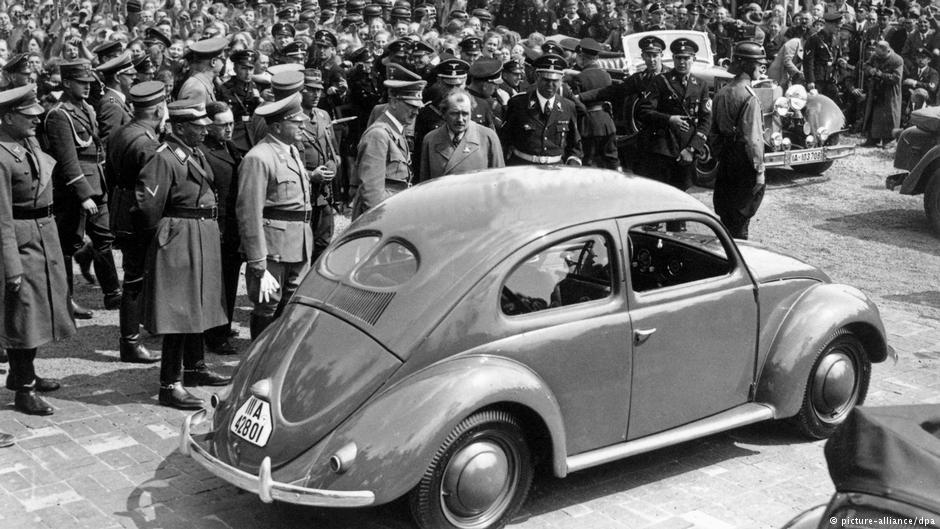 """Legendarny """"garbus"""" powstał dzięki nazistom"""