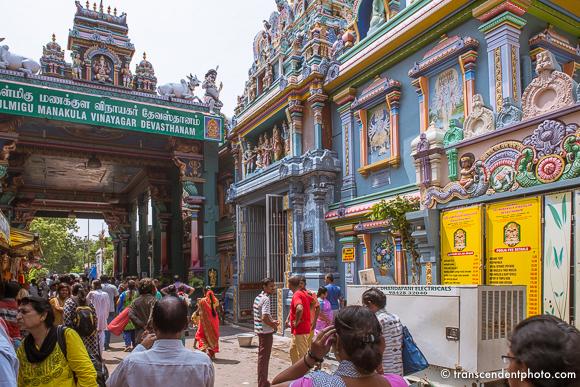 Świątynia Manakula Vinayagar w całości poświęcona Ganeshy