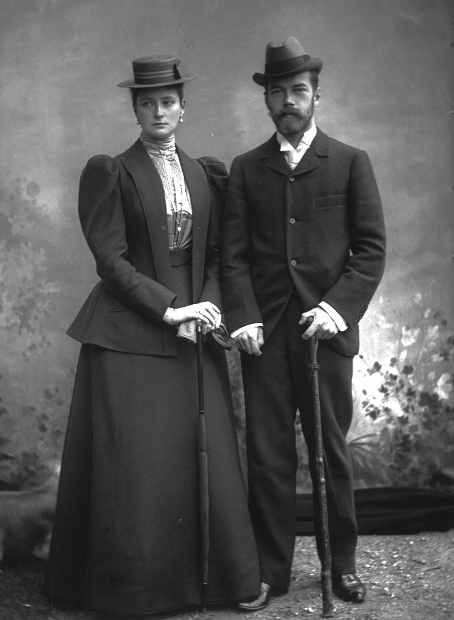 Mikołaj II i Aleksandra Fiodorowna. Fot. wikipedia