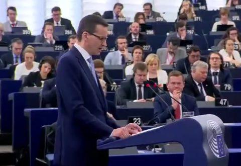 Stefan Niesiołowski: Zdumiewająca bezczelność i zakłamanie p. Morawieckiego w Strasburgu