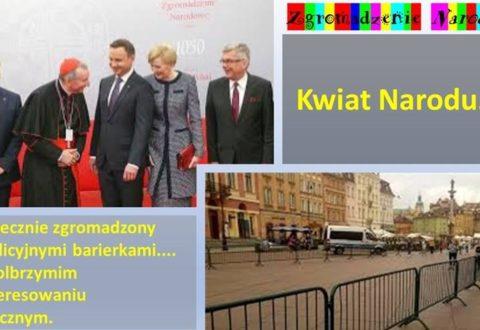 """Andrzej Żukowski: Zgromadzenie """"Narodowe"""", czyli schabowy bezmięsny z burakami i cienką wódką"""