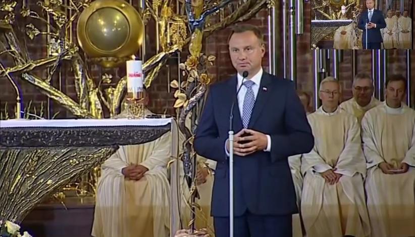 Ojciec Paweł Gużyński: Komentarz do przemówienia Prezydenta Dudy w kościele św. Brygidy