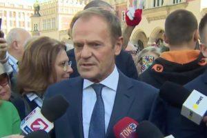 Do Krakowa przyjechał Donald Tusk
