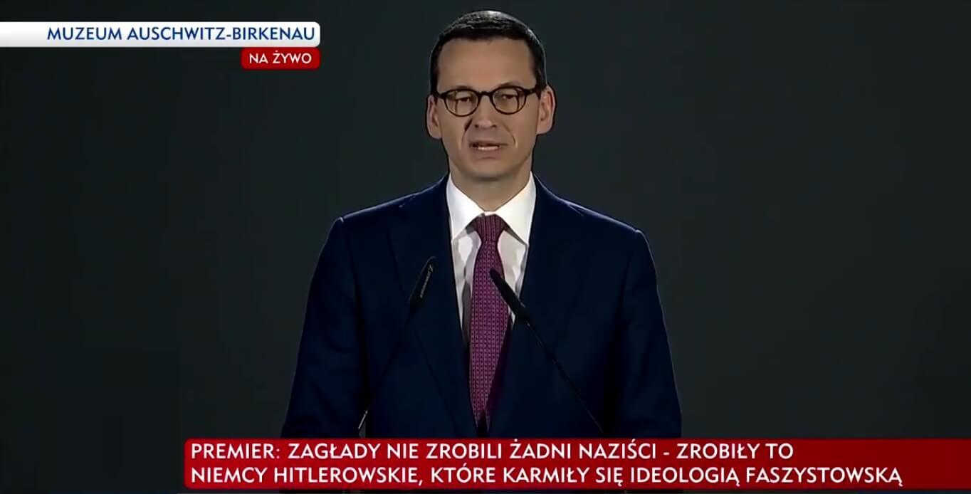 Adam Mazguła: Panie Mateuszu Morawiecki, Pana środowisko odpowiada za odrodzenie faszyzmu w Polsce