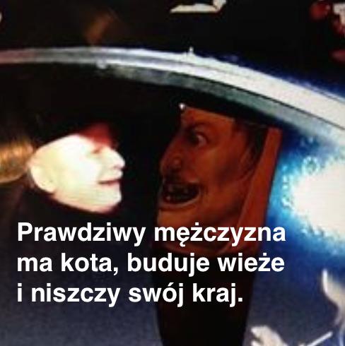 Manuela Gretkowska o J. Kaczyńskim: Nie nienawidzę człowieka, nienawidzę tego co ze sobą przywlókł ze strefy mroku