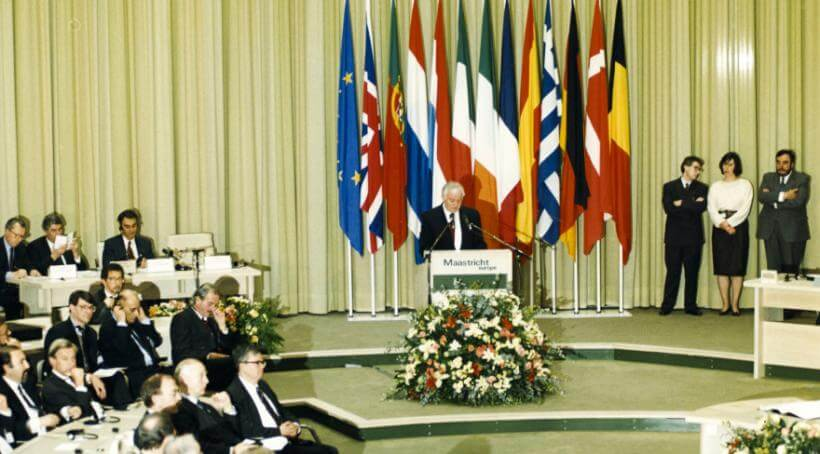 Traktat o Unii Europejskiej został podpisany w Maastricht 7 lutego 1992 r