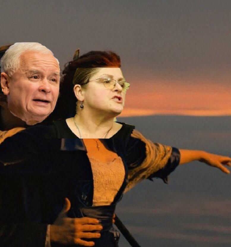 14 kwietnia urodziła się Pawłowicz i 14 kwietnia zatonął Titanic, co mam nadzieję, jest wróżbą dla PiS.