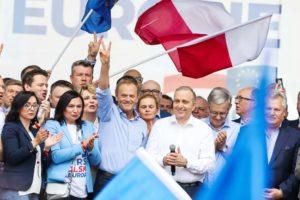 """Andrzej Saramonowicz: Platformie spada, bo teraz działa """"efekt braku Tuska"""""""