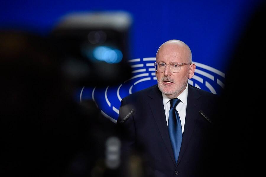 Dariusz Stokwiszewski: Mr Frans Timmermans – Vice President of the European Commission
