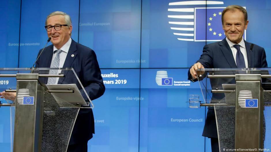 Szefowie: KE Jean-Claude Juncker i Rady Europejskiej Donald Tusk