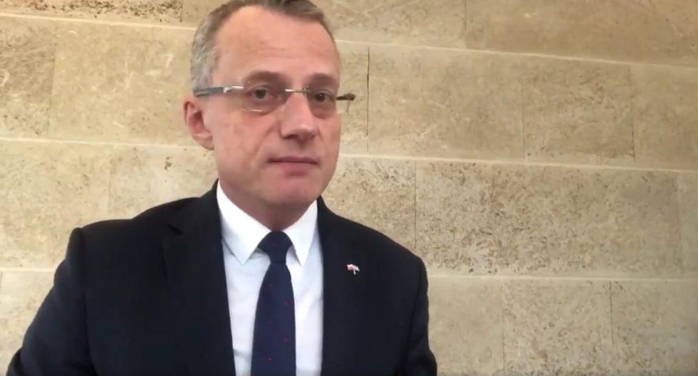 Atak na ambasadora Polski w Izraelu @mmagierowski był niedopuszczalny. Rząd oczekuje od wladz Izraela wyciagnięcia ostrych konsekwencji wobec sprawcy.