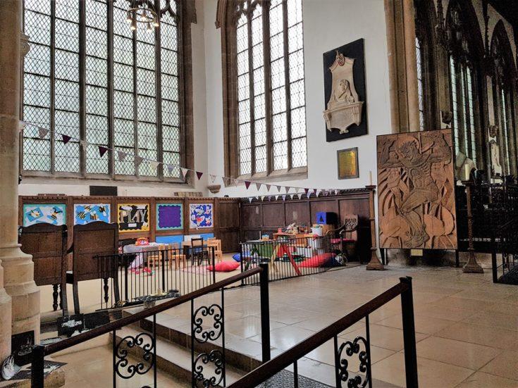 Newark, kościól parafialny św. Marii Magdaleny. Fot. Adam Mazguła