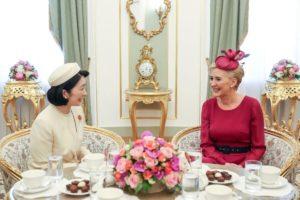 Spotkanie Agaty Kornhauser-Dudy z małżonką japońskiego następcy tronu Księżną Akishino