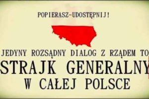 Dr Dariusz Stokwiszewski: Apel o strajk generalny w całej Polsce!