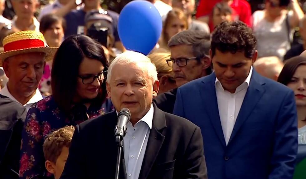 """Kaczyński: dziękuję abp Jędraszewskiemu za jego słowa o """"tęczowej zarazie"""""""