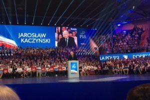 Jarosław Kaczyński na Konwencji PiS w Lublinie: Rodzina to jedna kobieta, jeden mężczyzna w stałym związku i ich dzieci