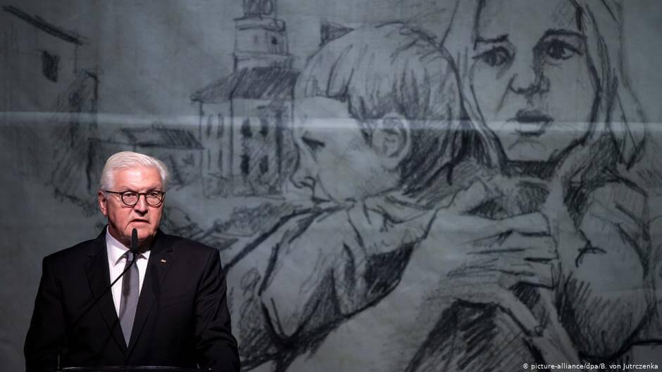 Podczas uroczystości upamiętniających pierwsze ofiary II wojny światowej w Wieluniu prezydent Niemiec Frank-Walter Steinmeier prosił o wybaczenie