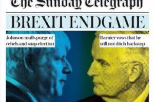 Pełnomocnika UE ws. brexitu Michela Barnier wyraźnie opuścił optymizm. Nie widzi szans na brexit z umową.