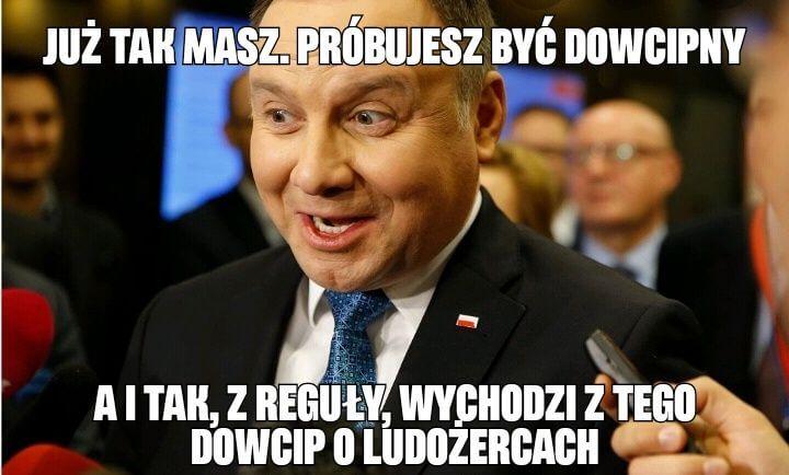 Marcin Zegadło: Andrzej Duda dowcipkuje