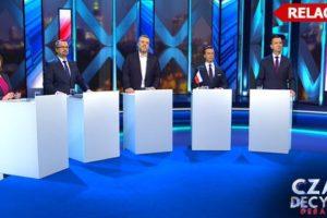 Debata wyborcza w tvn24
