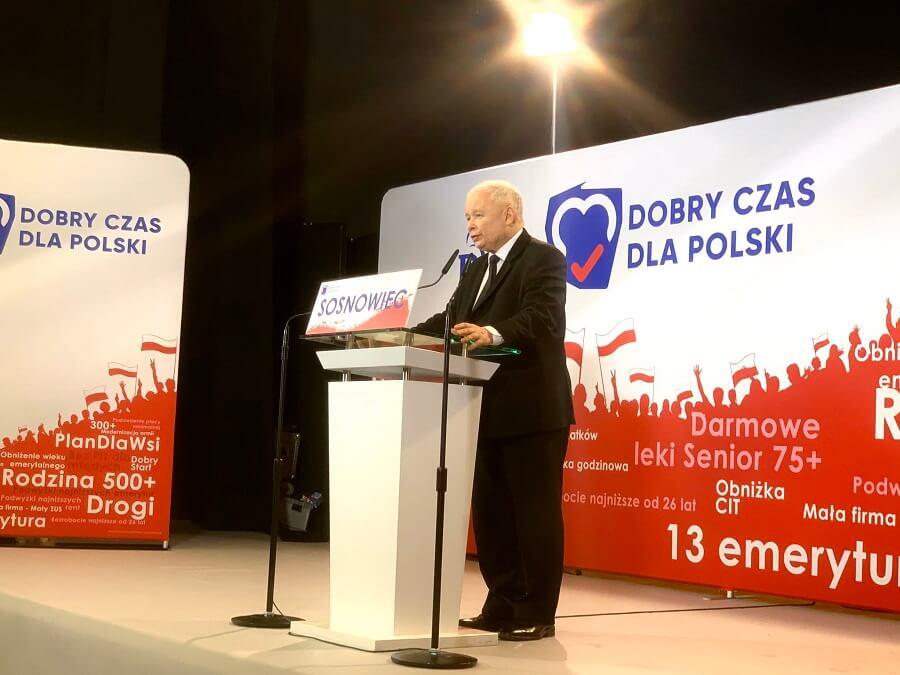 Marcin Zegadło: Kaczyński w Sosnowcu ujawnił co nas czeka